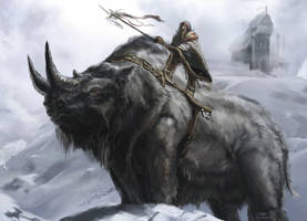Brontotherium Mortalonline by LordHannu