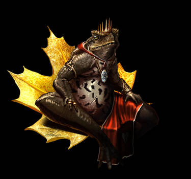Toad king by LordHannu