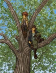 Tree Climbers by kmkho