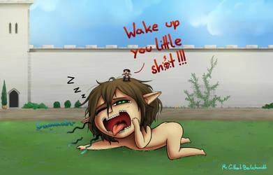 Wake up Eren by TheMystiqueStarlight