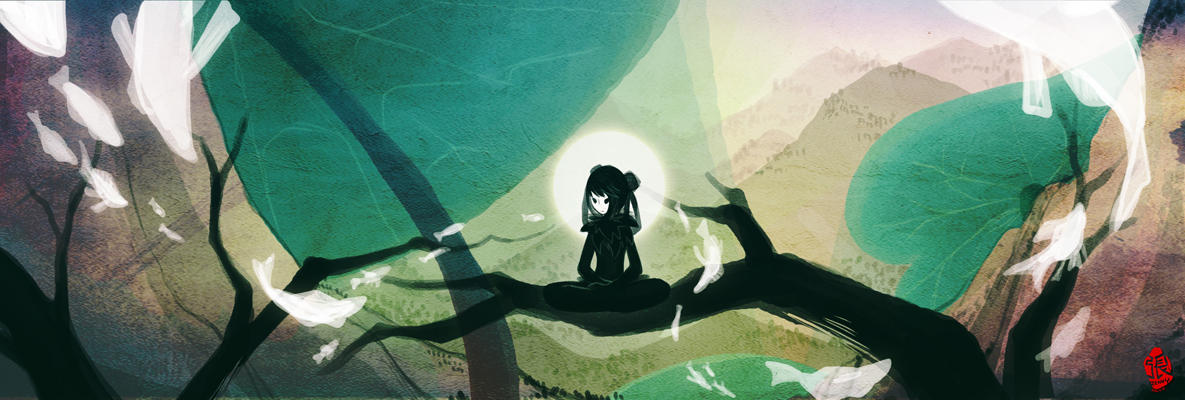 Meditation by Zennore