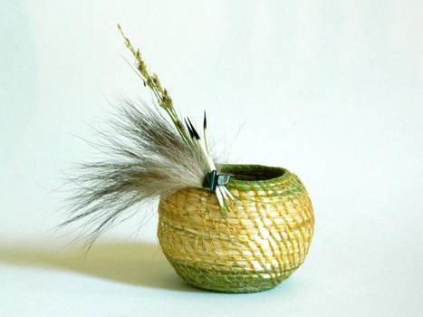 Grass Basket I by Arboris-Silvestre