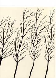 Black Trees 2 by shadowofthedragon