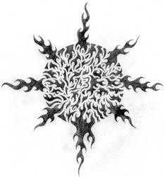 Pagan 13 Tattoo Sketch by shadowofthedragon