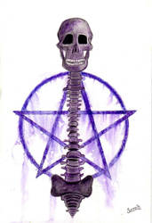 Death Pentacle by shadowofthedragon