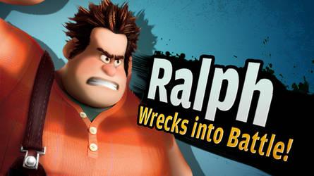 Ralph for SSB4 by zelc-face