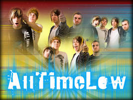All Time Low Wallpaper by angryannoyance