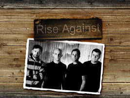 Rise Against Wallpaper 2 by angryannoyance