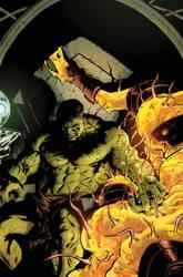 Hulk's appearance in Skaar by dismang