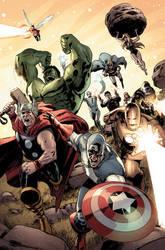 Avengers vs. Atlas no. 4 pg 17 by dismang
