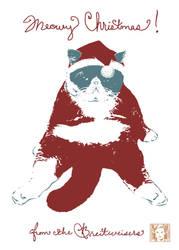 Meowy Christmas! by dismang