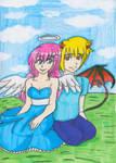 ptcm-Kayla and Cory by Azure-wolf96