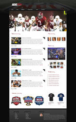 News template by KustomzGraphics