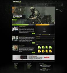 MW3 Webpage by KustomzGraphics