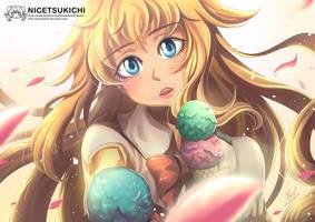 Ice Cream by nicetsukichi
