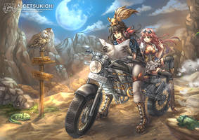 Adventure Road by nicetsukichi