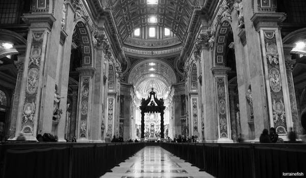 Vatican City: Come inside by LorraineFish