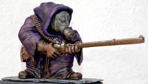 Warhammer 40k style Skaven Jezail by DrMonkeyface