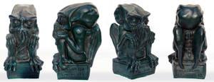 Green Cthulhu casting by DrMonkeyface