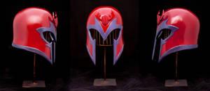 X-Men Magneto helmet by DrMonkeyface