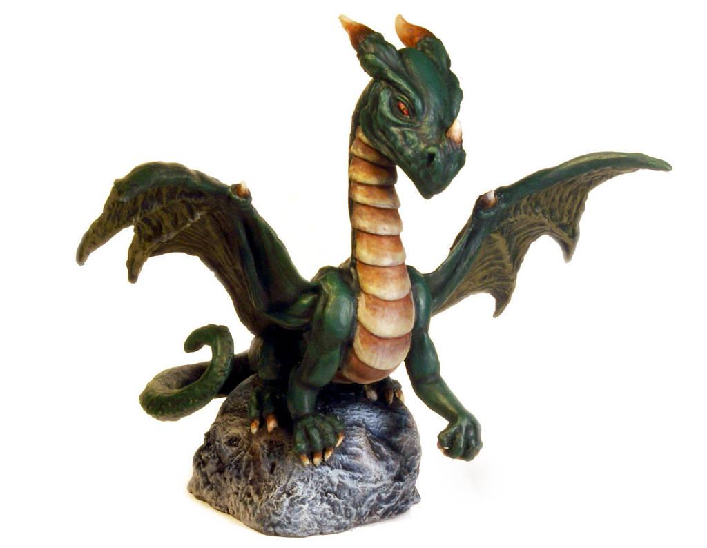 Green Dragon by DrMonkeyface
