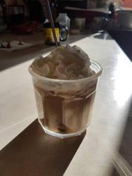 Peppermint Starbucks Latte by sammy-the-sam
