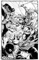 Teenage Mutant Ninja Turtles by derrickfish