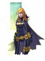 Wondercon 2011 Batgirl by punchyninja