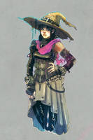 witch by punchyninja