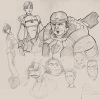 doodles of war by punchyninja