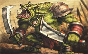 Orc Brute by VegasMike