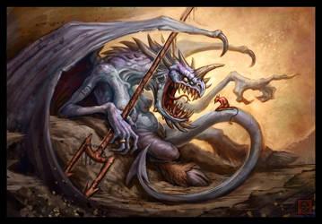 Satan's Mom by VegasMike