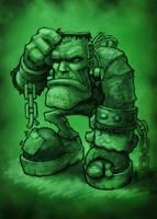 Frankenstein Colored by VegasMike