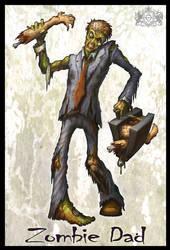 Zombie Dad by VegasMike