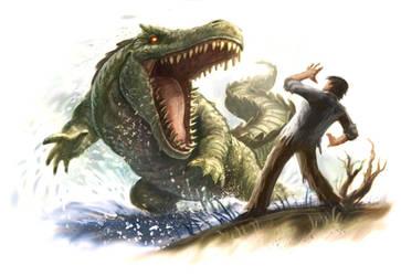 Croc King by VegasMike