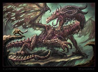 Lich Dragon by VegasMike