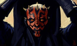 Maul Speed Painting by VegasMike
