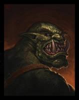 Orc Portrait by VegasMike