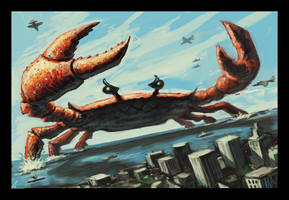 The Incredible Giant Crab by VegasMike