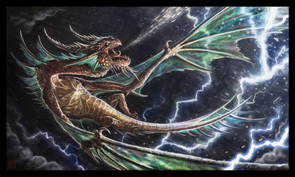 Storm Dragon by VegasMike