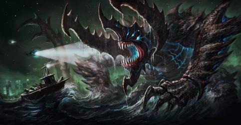 Kaiju Final by VegasMike