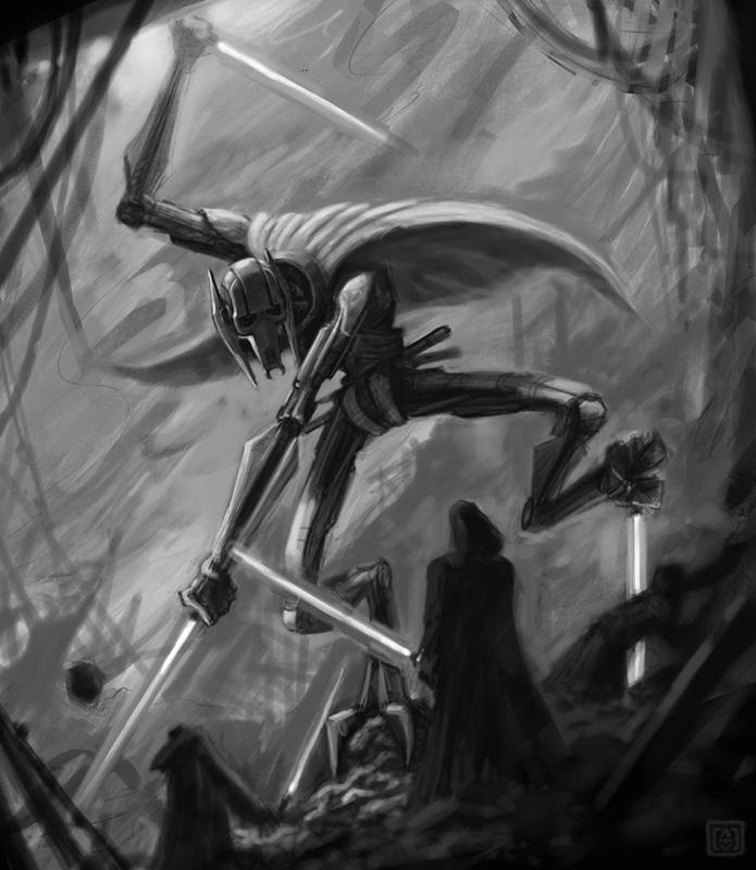 General Grievous Wallpaper: Star Wars-General Grievous By VegasMike On DeviantArt