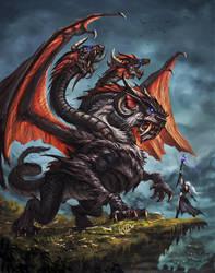 Black Dragon by VegasMike