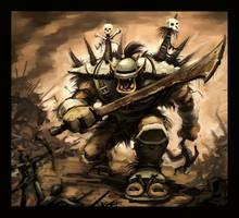 Ogre Warlord by VegasMike