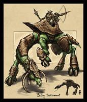 Batlog Battlemount Creature by VegasMike