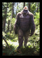 Sasquatch Photomanipulation by VegasMike