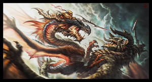 Dragon Riders by VegasMike