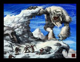 Abominable Snowman by VegasMike