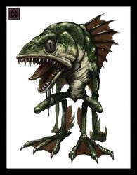 Mutant Fishboy by VegasMike