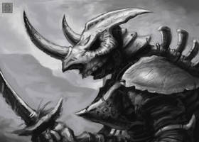 Bone Armor DSG3 by VegasMike